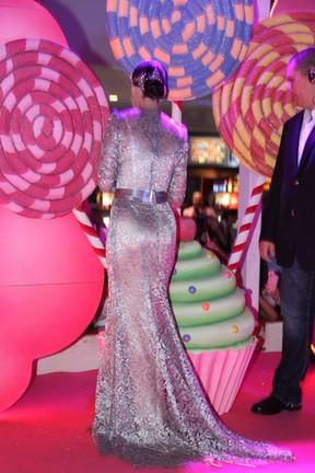 Katy Perry na pré-estreia de seu filme (Foto: Felipe Panfili e Roberto Filho / AgNews)