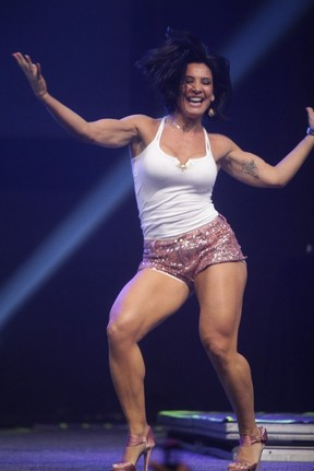 Scheila Carvalho em show no Rio (Foto: Fred Pontes/ Divulgação)