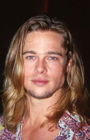 Brad Pitt Natural Hair Color