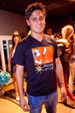 Daniel Rocha em evento de moda em Juiz de Fora, Minas Gerais (Foto: Wanderson Monteiro/ Divulgação)