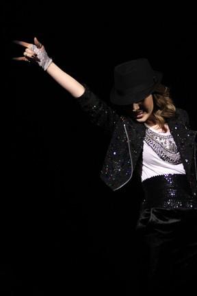 Sandy canta Michael Jackson (Foto: Raphael Mesquita / Foto Rio News)