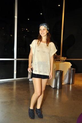 Nathalia Dill vai a show do Lulu Santos no Rio (Foto: Roberto Teixeira/EGO)