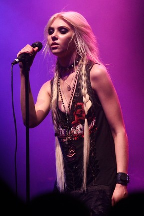 Taylor Momsen faz show em São Paulo (Foto: Manuela Scarpa/Foto Rio News)