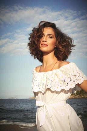 Camila Pitanga (Foto: Paulo Vainer / Divulgação Revista Glamour)