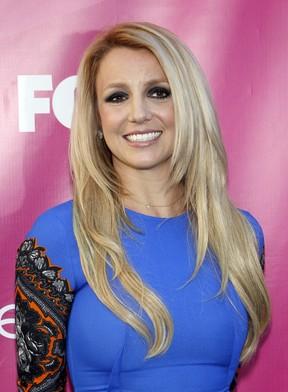 Britney Spears na première do reality show musical 'The X Factor' em Hollywood, nos Estados Unidos (Foto: Mario Anzuoni/ Reuters/ Agência)