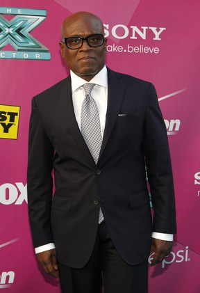 L.A. Reid na première do reality show musical 'The X Factor' em Hollywood, nos Estados Unidos (Foto: Mario Anzuoni/ Reuters/ Agência)