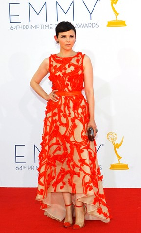 Ginnifer Goodwin no Emmy Awards (Foto: Reuters)