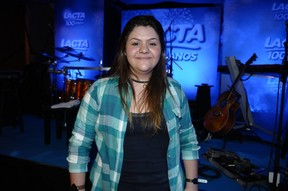 Julia Zitti, a fã vencedora da promoção (Foto: Francisco Cepeda/Agnews)