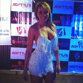 Juju Salimeni em evento em São Paulo (Foto: Instagram/ Reprodução)