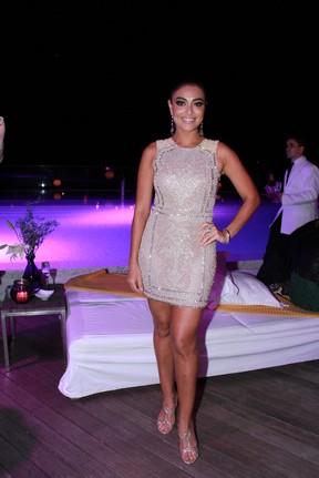 Juliana Paes no lançamento de seu perfume no Rio (Foto: Thyago Andrade/PhotoRioNews)