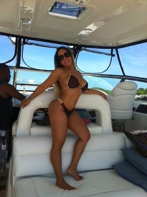 Mulher Melão em Cancun (Foto: Divulgação)