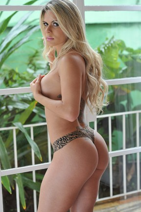 Ludmila Lopes Candidata De Goi S Do Miss Bumbum Foto Co Assessoria