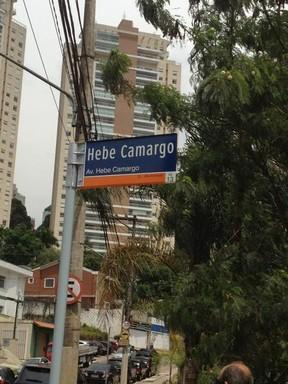 Hebe Camargo (Foto: Reprodução/ Twitter)