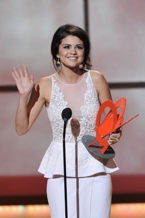 Selena Gomez na 22ª edição do Glamour Women of the Year Awards em Nova York, nos EUA (Foto: Theo Wargo/ Getty Images/ Agência)