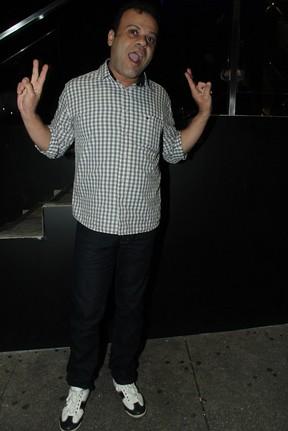 Ex-BBB Daniel em festa em São Paulo (Foto: Amauri Nehn/ Ag. News)