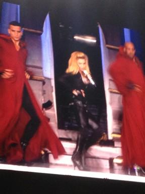 Madonna se apresenta em São Paulo (Foto: EGO)