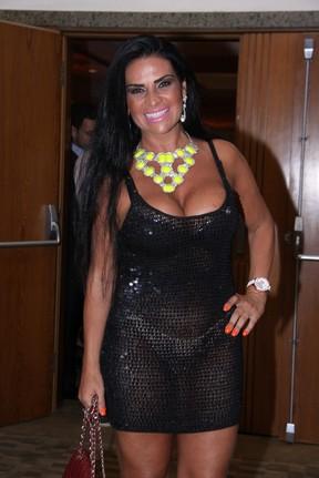 Solange Gomes em evento em hotel no Rio (Foto: Alex Palarea/ Ag. News)