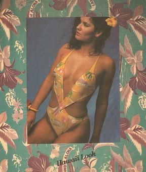 Magda Cotrofe posa para anuncio de moda praia (Foto: Divulgação)