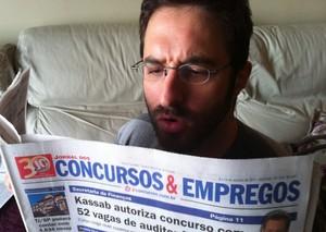Rafinha Bastos faz piada com suposta saída do 'CQC' no Twitter (Foto: Twitter/Reprodução)