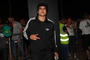 Caio Castro no Festival SWU 2011 (Foto: Iwi Onodera / EGO)