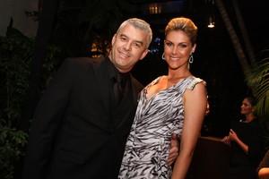 Ana Hickmann e Alexandre Corrêa (Foto: Photo Rio News)