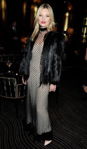 Kate Moss no British Fashion Awards em Londres, na Inglaterra (Foto: Getty Images/ Agência)