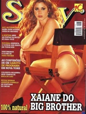 Capa Sexy _Xaiane_BBB1 (Foto: Reprodução)