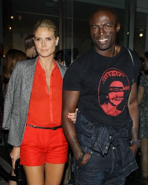 Heidi Klum e Seal (Foto: Getty Images/Agência)