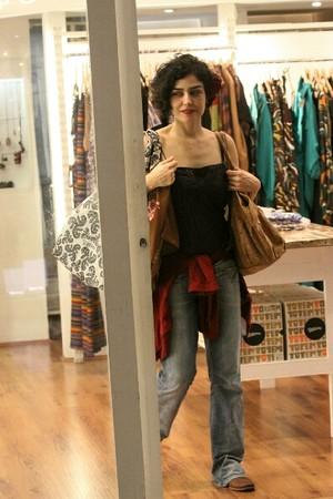 Letícia Sabatella (Foto: Alice Silva / AgNews)