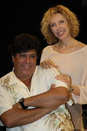 Sidney Magal e Marília Gabriela (Foto: Divulgação)