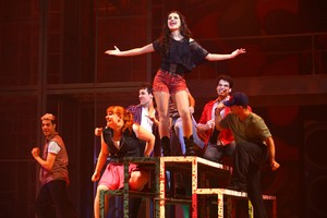 Paloma Bernardi encena o musical 'Fame' (Foto: Iwi Onodera/ EGO)