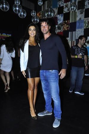Juliana Paes e seu marido, Carlos Henrique Baptista (Foto: Roberto Teixeira/EGO)
