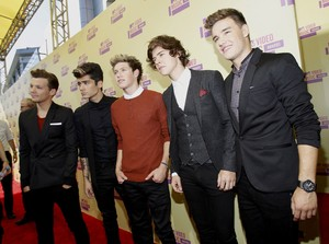 One Direction no VMA (Foto: Reuters)