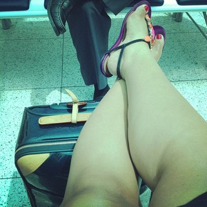 Preta Gil no aeroporto Santos Dumont, RJ (Foto: Instagram / Reprodução)