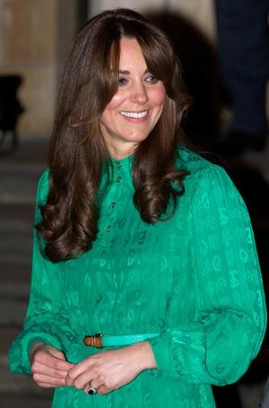 Kate Middleton vai a evento em Londres (Foto: AFP)
