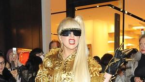 Lady Gaga em Tóquio, no Japão (Foto: Getty Images/ Agência)