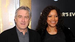 Robert De Niro e sua mulher, Grace (Foto: Agência/Getty)