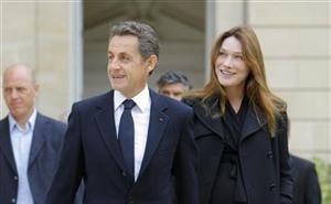 Carla Bruni e Nicolas Sarkozy (foto de arquivo) (Foto: Agência/Reuters)