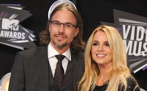 Britney Spears e Jason Trawick (Foto: Agência/ Getty Images)