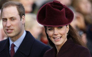Kate Middleton e príncipe William vão à missa de Natal (Foto: Reuters)