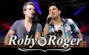 Roby e Roger (Foto: Site Oficial/Reprodução)