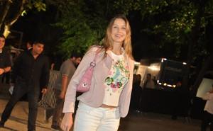 Luana Piovani no Fashion Rio (Foto: Roberto Teixeira / EGO)