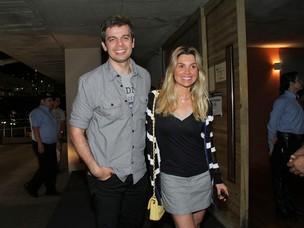 Flávia Alessandra com o marido, Otaviano Costa (Foto: Alex Palarea e Roberto Filho / AgNews)