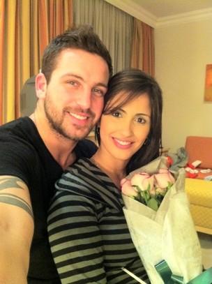 Diogo Pretto e Carol Vieira (Foto: Divulgação)