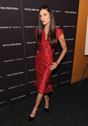 Demi Moore aparece magérrima em première (Foto: Getty)
