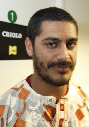 Criolo, vencedor da música do ano no VMB 2011 - 20/10/2011  (Foto: (Foto: Hans Georg/Argosfoto))