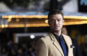 Justin Timberlake na première do filme 'O preço do amanhã' na Califórnia, nos Estados Unidos. (Foto: Reuters/ Agência)