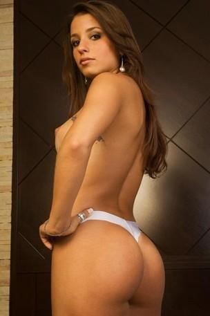 Luana Kisner em ensaio sensual (Foto: Reprodução)