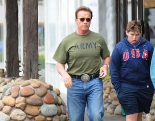 Arnold Schwarzenegger (Foto: Agência Grosby Group)