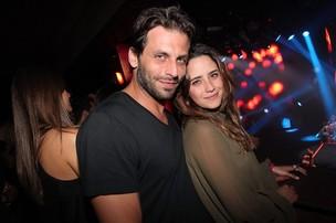 Henri Castelli e Fernanda Vasconcellos assistem a show de Wanessa em SP (Foto: Manuela Scarpa/Photo Rio News)